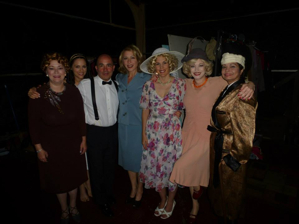 Cast Photo Garbo's Cuban Lover - The Re-Imagined version